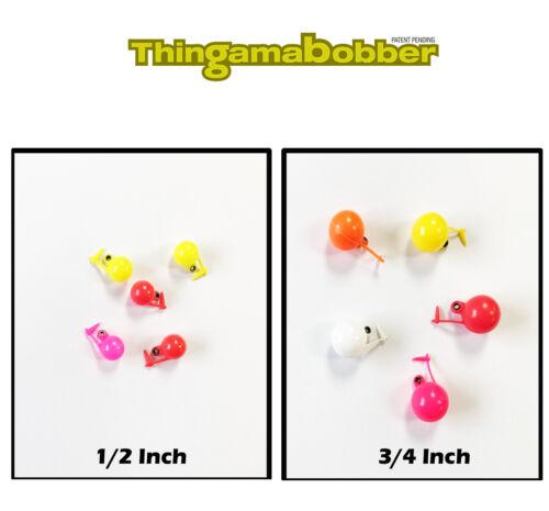 Thingamabobber Strike Indikatoren 2 Größen Forelle Lachs Fliegenfischen Nymphe