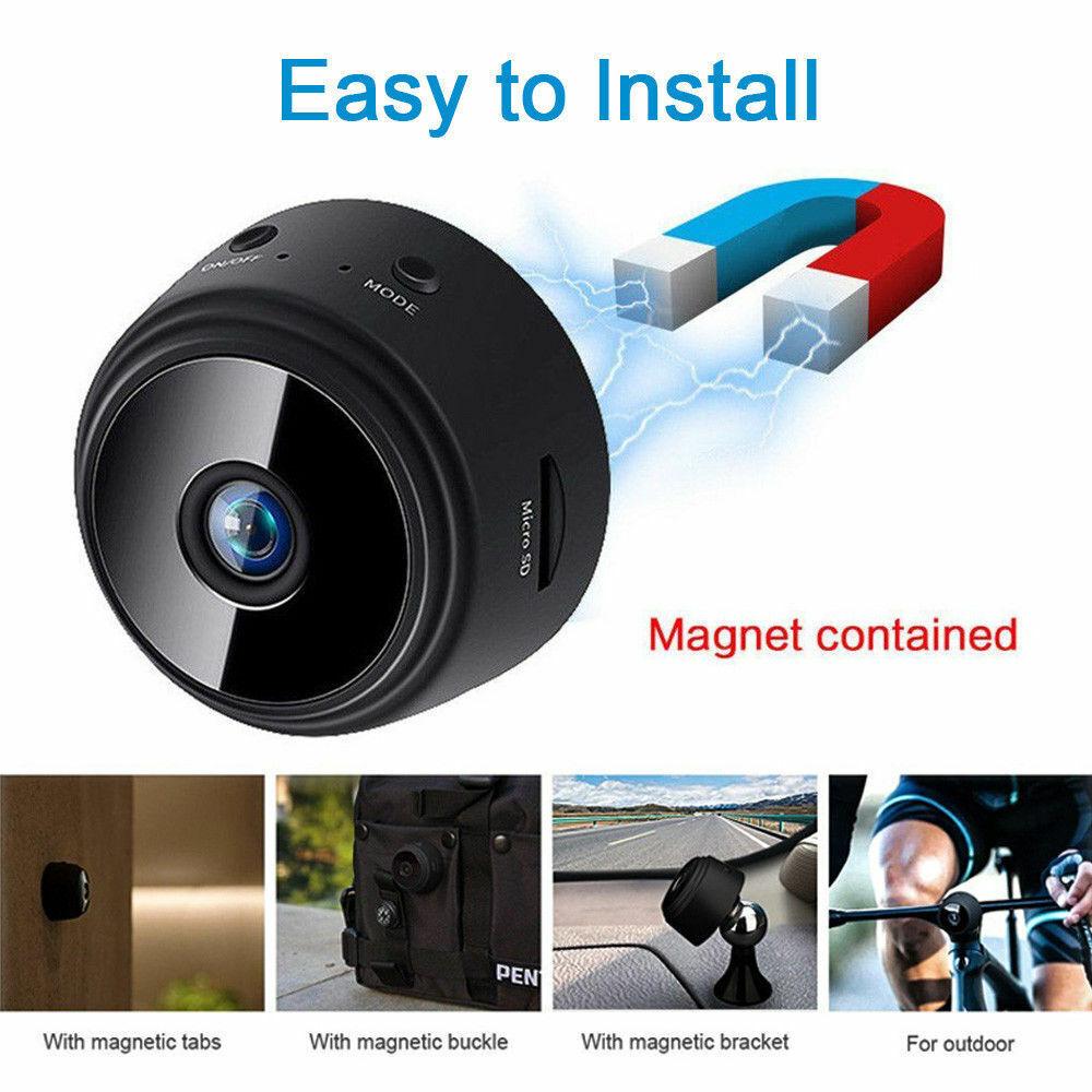 A9 Mini Camera Wireless Wifi IP Home Security Full HD 1080P DVR Night Vision 2