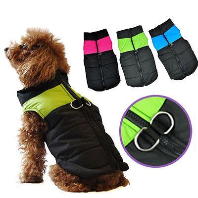 Comfortable Big Pet Dog Clothes Vest Jacket Coat Small Medium Large