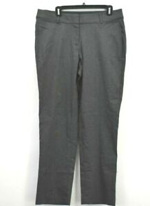 Lane-Bryant-Women-039-s-14S-The-Allie-Ankle-Straight-Fit-Career-Dress-Pants-Grey