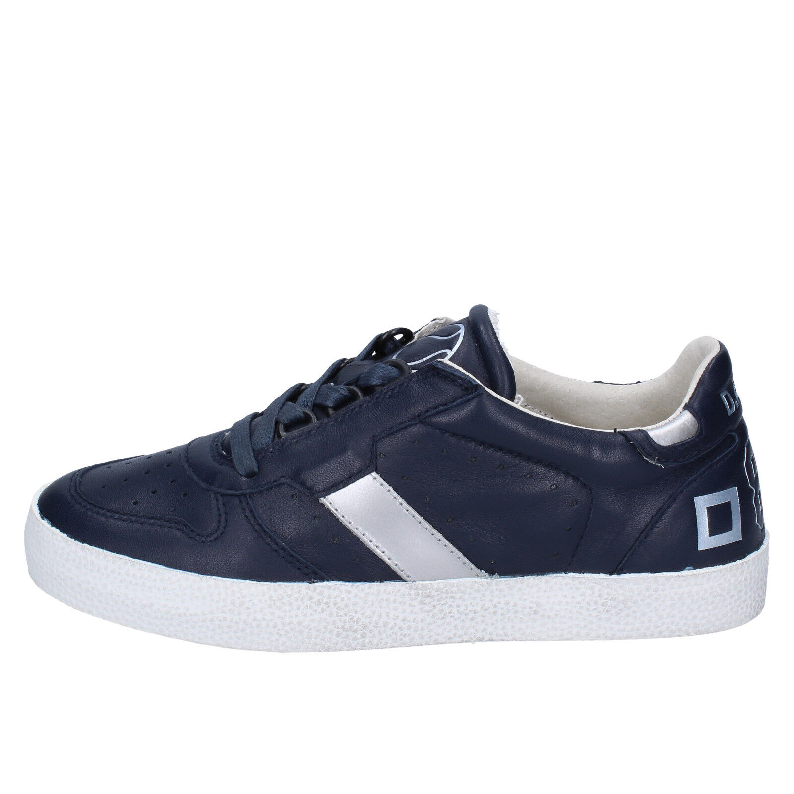 Scarpe donna D.A.T.E. (date) 37 EU scarpe da ginnastica blu pelle BX152-37