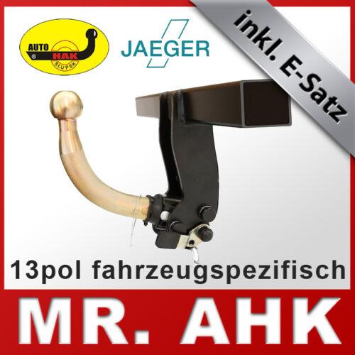 Jeep Wrangler JK ab 07 Anhängerkupplung AHK abnehmbar 13pol E-Satz SPE