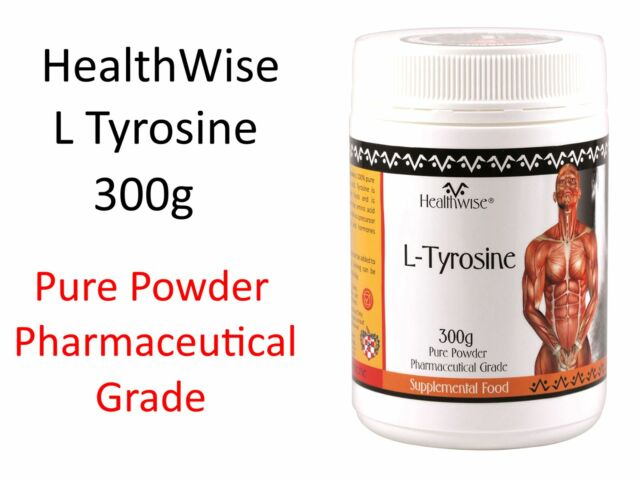 1 x 300g HealthWise L - Tyrosine  ( 100% Pure Amino Acid Powder )