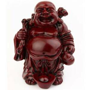 Grand bouddha riant traditionnel porte bonheur asiatique ebay - Porte asiatique ...