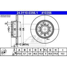 1 Stück ATE 24.0118-0141.1 Bremsscheibe
