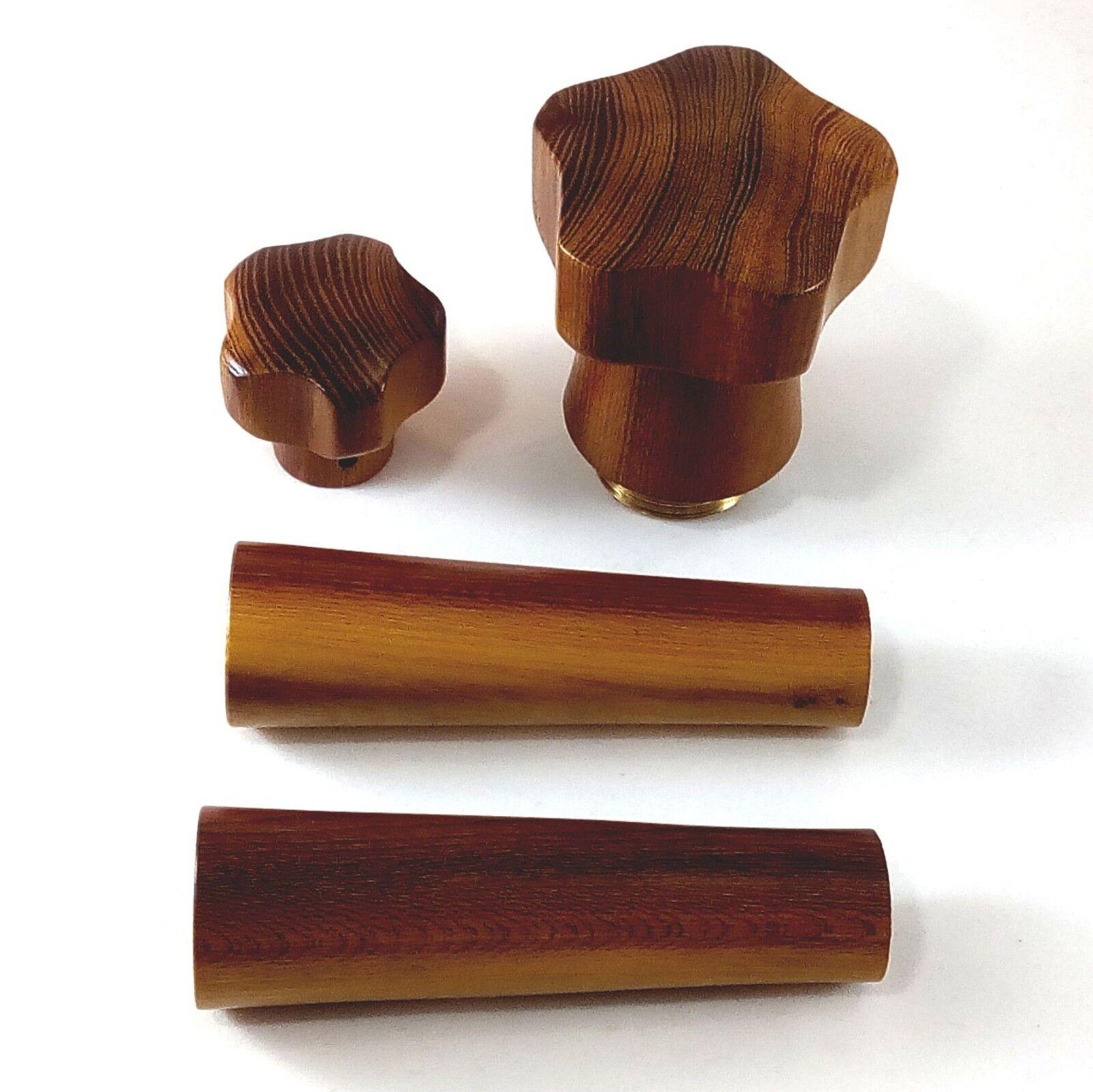 La Pavoni Bois Poignées, Cap et bouton Kit-Oranger des Osages Hardwood
