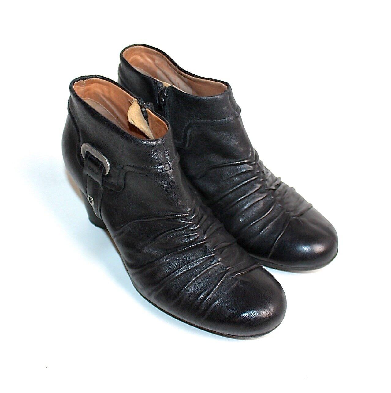 Airstep botines 37 negro genuino cuero genuino negro e05585
