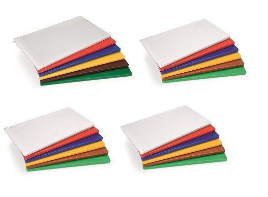 4x Set Planche à Découper, Tapis de Coupe, en Blanc, Haccp , GN1 1,