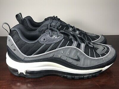 air max 98 black and grey