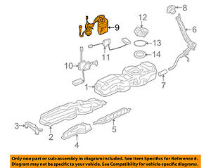 land rover oem 10 16 lr4 fuel pump lr043385 ebay sunbeam tiger fuel pump image is loading land rover oem 10 16 lr4 fuel pump