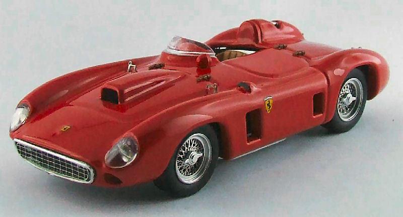 Ferrari 290 mm prova 1956 rouge 1 43 MODEL 0299 Art-Model