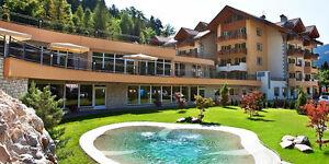 9 T. Les Vacances à 4 * Étoiles Bien-être & Spa Hôtel Rio Stava Dans Le Tyrol Du Sud/italie-afficher Le Titre D'origine