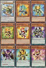 Yugioh Deskbot Deck - 40 Cards + 11 Extra - Black Rose Dragon, Jet, 003