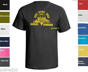 Israeli-Airborne-Israel-Defense-Forces-T-Shirt-Army-Military-IDF-Zahal-SZ-S-5XL