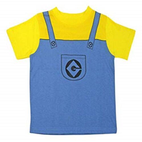Minions Minion Despicable Me T Shirt Kids 2-3yrs Cute Official New