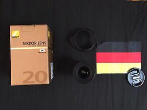 AF-S NIKKOR 20 MM 1:1,8G ED - Deutschland - AF-S NIKKOR 20 MM 1:1,8G ED - Deutschland