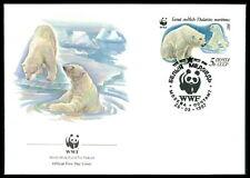 RUSSIA FDC 1987 FAUNA TIERE WWF EISBÄREN EISBÄR POLAR BEAR OURS BLANC au91