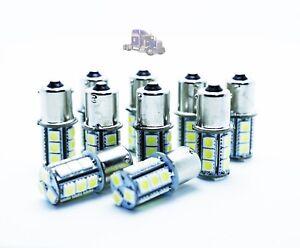 10x-LED-BULBS-P21W-BA15S-R5W-R10W-24V-WHITE-6000K-LORRIES-TRUCKS-CAMIONES