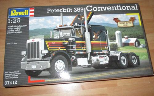 Revell 07412 Bausatz Kit in 1 25 Revell Peterbilt 359 Conventional