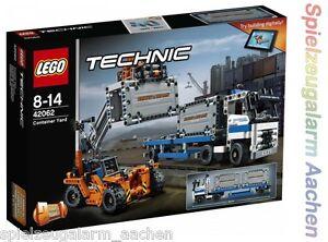LEGO technic 42062 conteneurs de transport automatisé avec camion conteneurisation n1/17  </span>