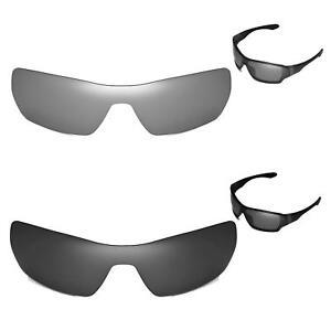 35f0aea4d55 Image is loading New-Walleva-Polarized-Titanium-Black-Lenses-For-Oakley-