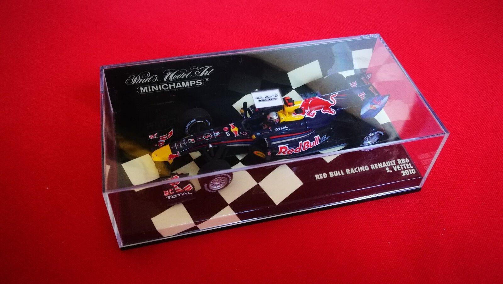 rouge Bull Bull Bull RB6 2010 S.Vettel. 1 43 2abfbd
