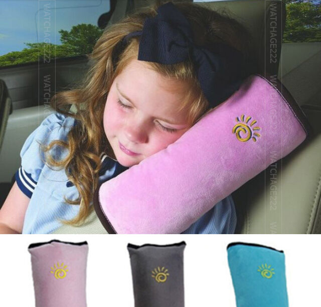 Children kids Car Seatbelt Seat Belt Cover Shoulder Pad Cushion Harness Support