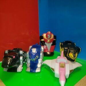 Vintage Mighty Morphin Power Rangers Zords Lot Figures Saban 1995