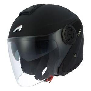 Casque-casco-helmet-jet-ASTONE-DJ10-BLACK-MAT-taille-L-59-60-HOMOLGUE