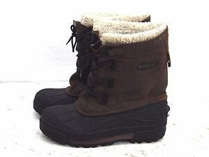 Columbia-North-Polar-Snow-Boots-Duck-Boots-Youth-Size-6-Waterproof-Excellent
