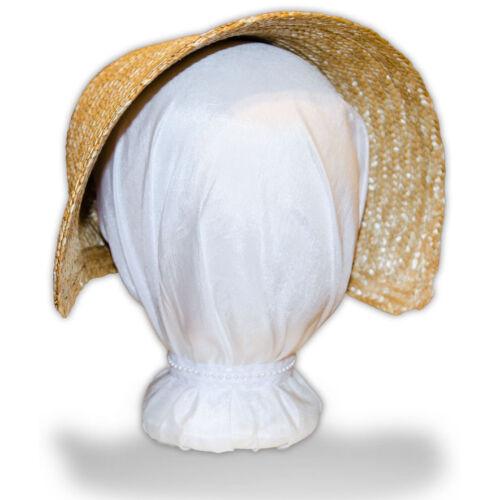 Victorian Cottage Bonnet Austentation DIY Blank Regency