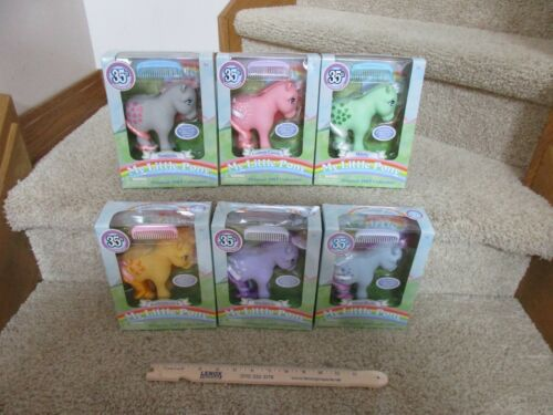 My Little Pony NEW 35th Anniversary Original Super set collection all 6 100/% toy