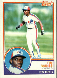 Details About 1983 Topps Baseball Cards 595 792 Rookies You Pick Buy 10 Cards Free Ship