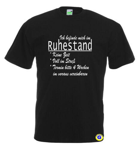 Retraités t-shirtje suis en retraitepensionpensionanniversaire 10-817