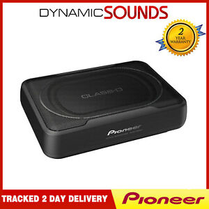 Pioneer TS-WX130EA Under Seat Space Saving Active Amplified Car Subwoofer 160W