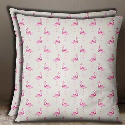 Details about  /S4Sassy Feather Print 1 Pair Cotton Poplin Pillow Sham Sofa Cushion Cover