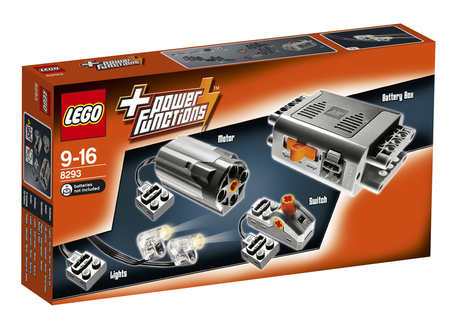 LEGO 8293 Technic Power Functions Motor Set