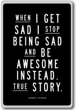 I Love Being Awesome Motivational Quotes Phrases Poster Print Barney Stinson