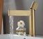 Deck Mount Brushed Gold Bathroom Basin Mixer Faucet Waterful Mixer Tap Brass New