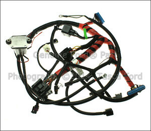 new oem glow plug wiring harness 2000 2003 ford 350 e450 e550 esd image is loading new oem glow plug wiring harness 2000 2003