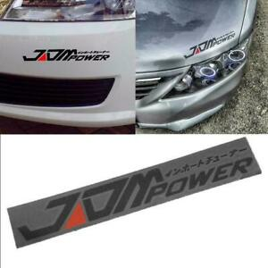 Car-Stickers-Decal-Body-Window-Hood-Bumper-JDM-POWER-A0Z3