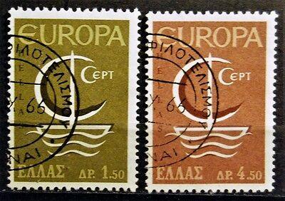 1186 Satz 2 Werte .......... Ausdrucksvoll Briefmarken Griechenland Gestempelt Minr Taille Und Sehnen StäRken 919-920