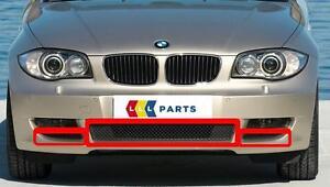 Nuevo-original-BMW-serie-1-E82-E88-2007-2011-Parachoques-Delantero-Parrilla-Inferior-conjunto-de