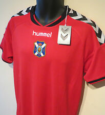 NWT 14-15 Red Hummel CD Tenerife Football Shirt Training Jersey Maglia Camisa M
