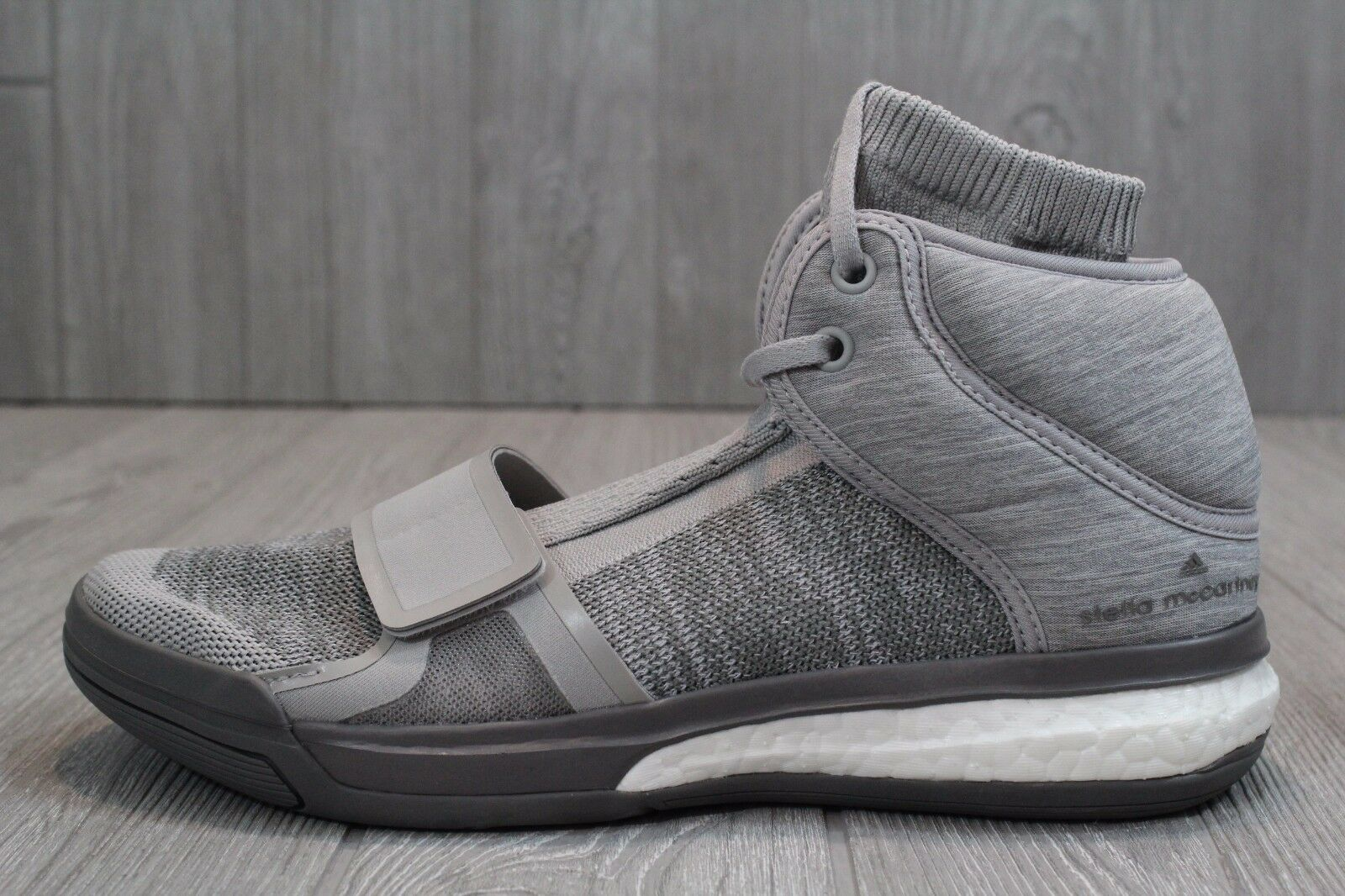 22 New Women's Adidas Stella McCartney Asmc Boost Vibe AF6441 grey shoes 7-9.5
