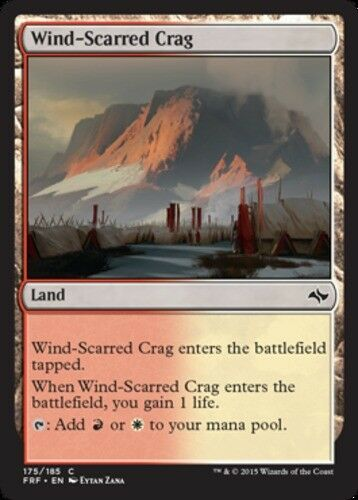 4x Wind-Scarred Crag MTG Fate Reforged NM Magic Regular