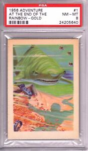 """1956 Adventure AT THE END OF THE RAINBOW  #1 PSA Graded 8 NM-MT Cond """"HI-END"""""""