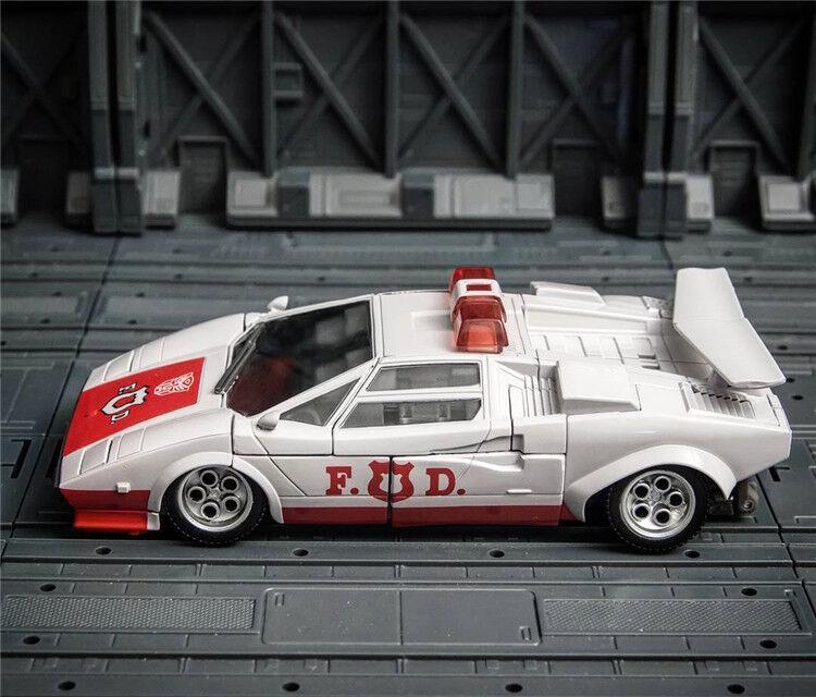 Masterpiece MP14+ Lamborghini Countach LP500S LP500S LP500S Red Alert Action Figure 14CM Toy 6edd2a