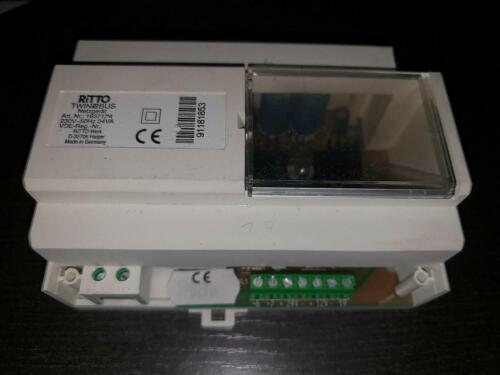 Ritto VLP 1 6371//04 Bloc d/'alimentation transformateur 6371.04 220 V 24va 1637104 TwinBus dép