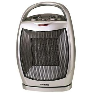 Details about Space Heater Electric Small Portable Ceramic Room Bedroom  Compact Indoor 1500W